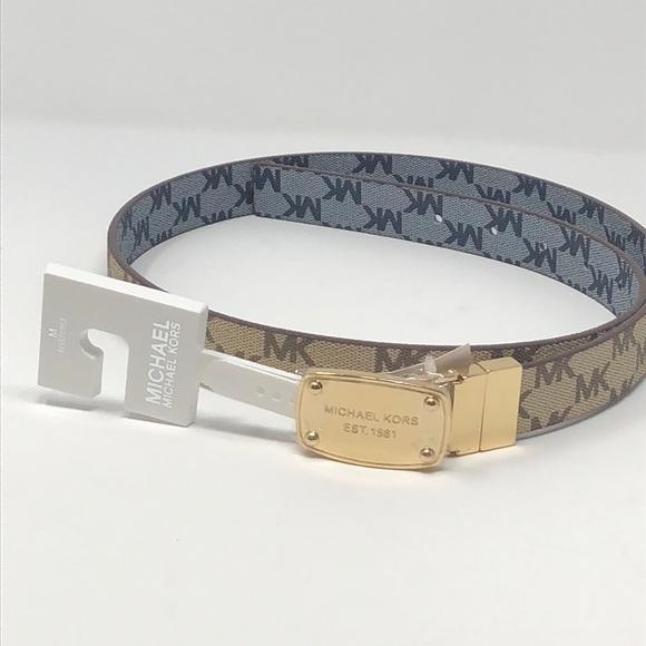 a6ce3eddf6a4c New Authentic Mk slim belt reversible. NWT. Michael Kors